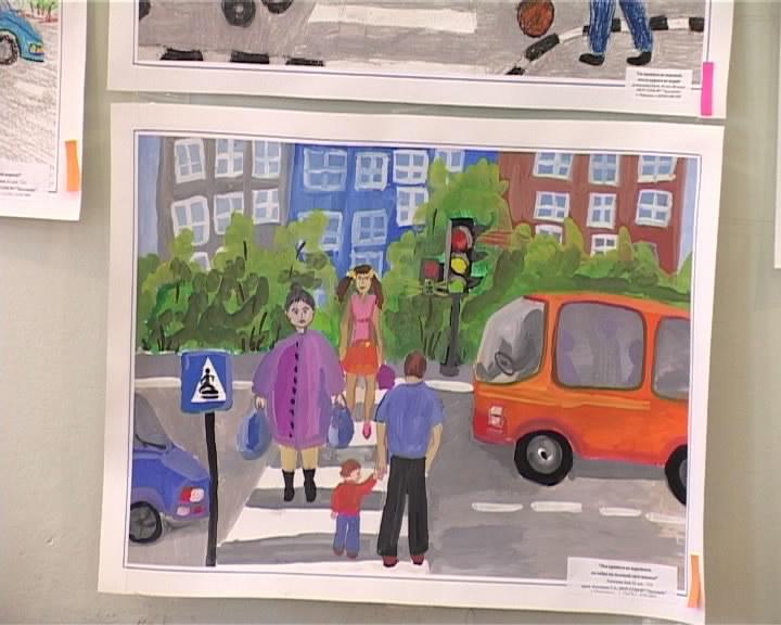 Поделка по правилам дорожного движения для 4